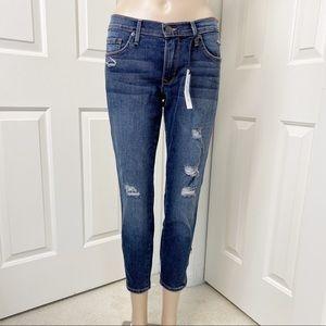 Just black ankle zipper skinny jeans stitch fix